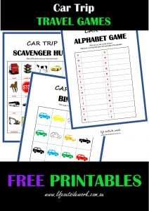 Going On A Road Trip? Grab Our FREE Game Printables For The Kids Before You Go!